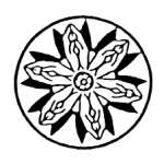 ICFLC logo inspired by a lotus flower