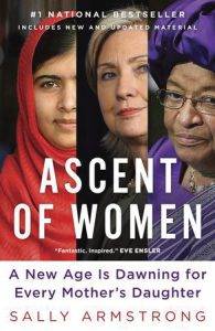 Book cover for Ascent of Women, written by Sally Armstrong