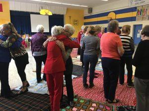 Kairos Blanket Exercise, WICC 100 Lindsay, Ontario