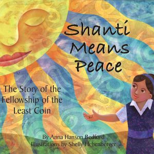 Book cover for Shanti Means Peace