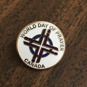 World Day of Prayer Pin