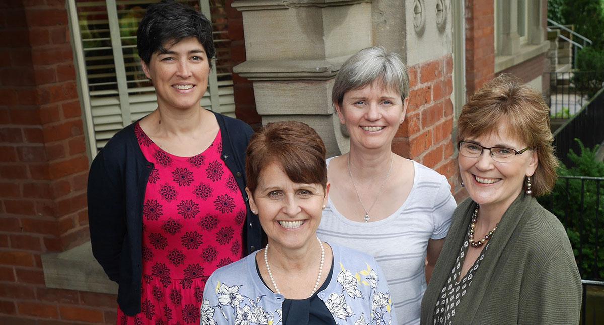 WICC Leadership Team, including Catherine MacKeil, Executive Director